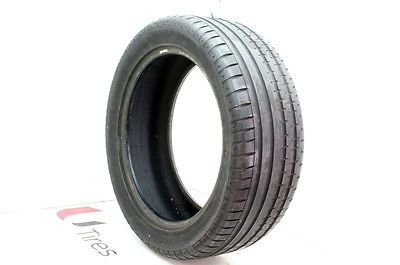 265/45ZR20 Continental SportContact 2 MO 104 Y Used 9/32 #66879