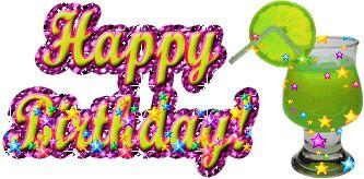 Glitter Birthday Wishes | Happy Birthday Glitter Image