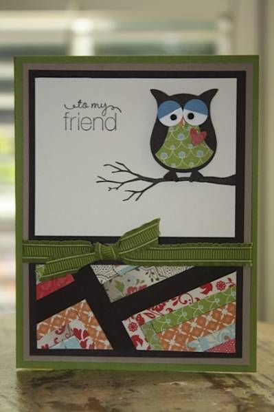 Herringbone SUO by triciabarber - Cards and Paper Crafts at Splitcoaststampers