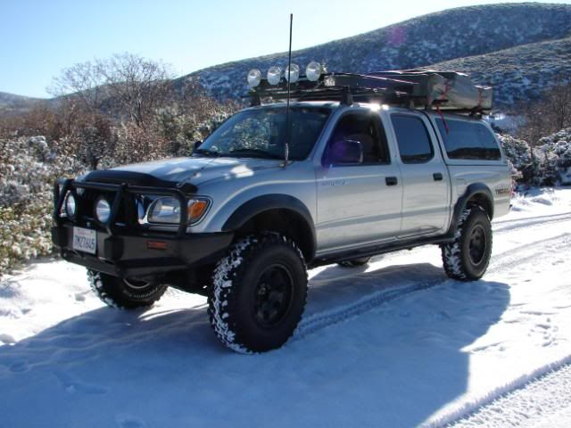 Toyota Tacoma Somethin Bout A Truck Roof Rack And