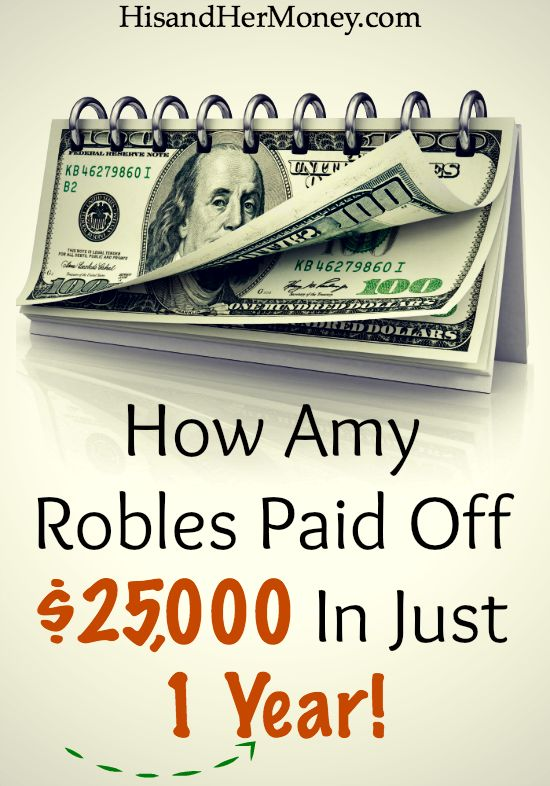 Debt freedom is not mission impossible for you. Some people are at the start line, some have already cross the finish line, and some people are right in the middle of their journey. Find out how Amy Robles paid off $25.000 in just 1 year!
