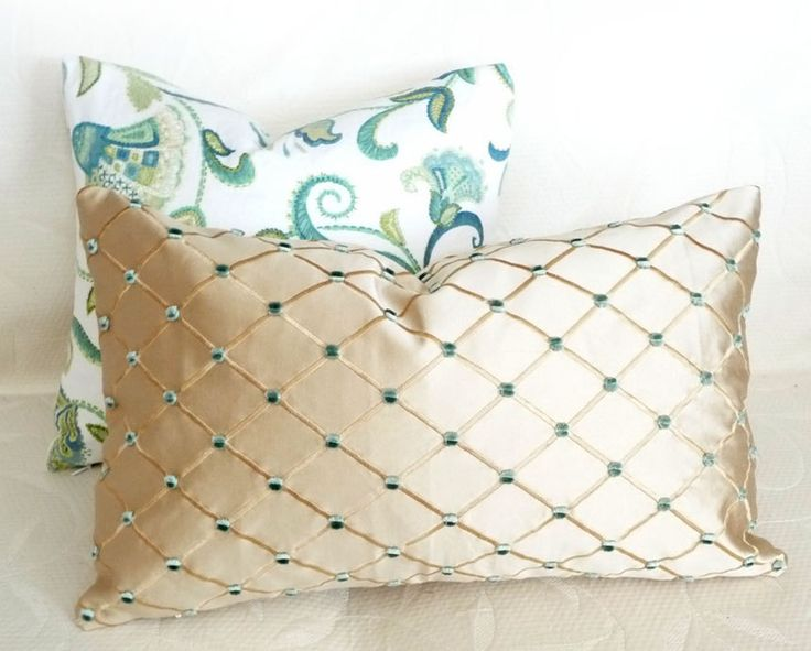 Diy Decorative Pillows Pinterest: 39 best Beaded throw pillows images on Pinterest   Throw pillows    ,