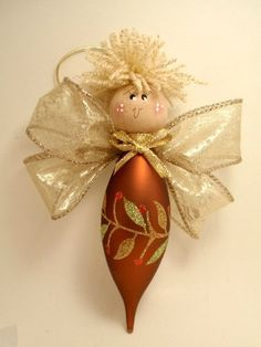 Darling DIY Angel Ornaments