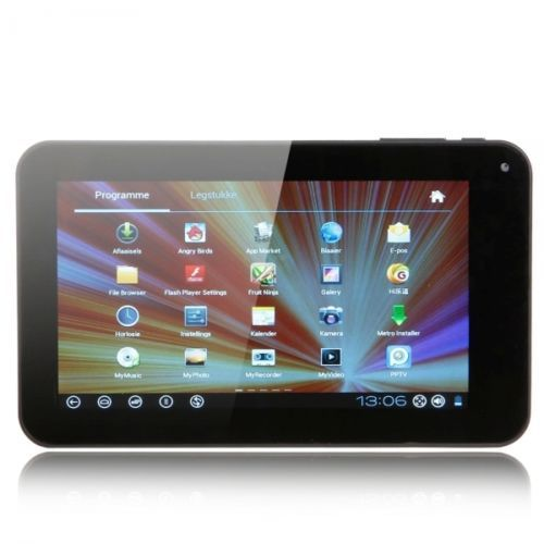 """7"""" Capacitive Touch Screen Android 4.0 4GB Tablet PC with Wifi Camera Blue$98.45 #Gift #Tablet"""