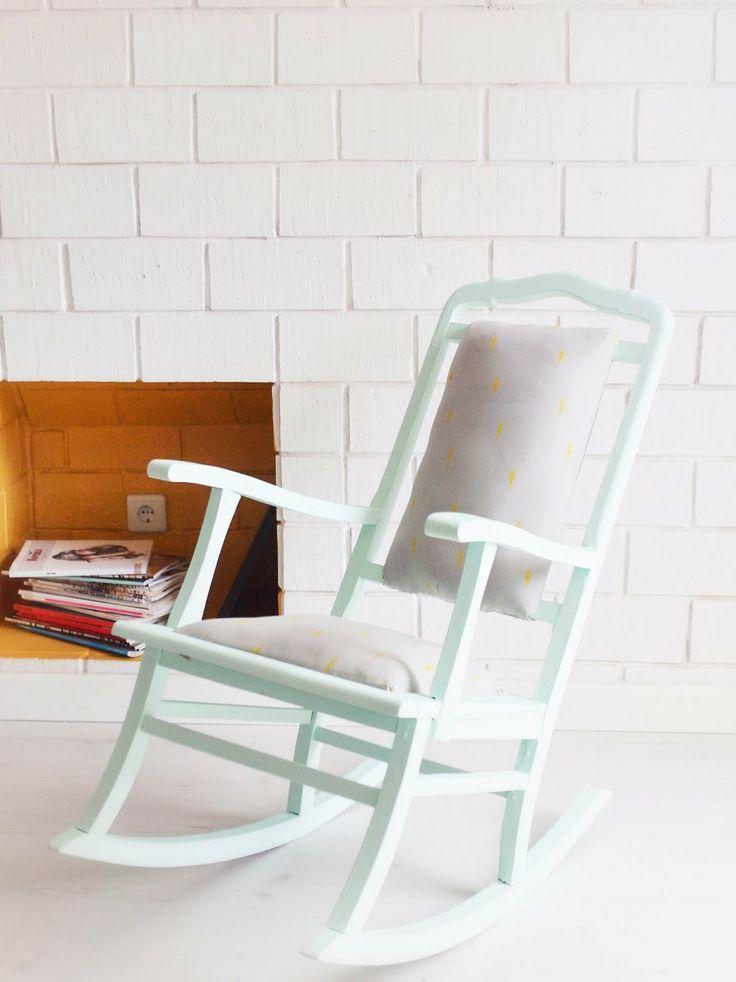 ... kids bedroom refurbished furniture chair cushions milk paint rocking