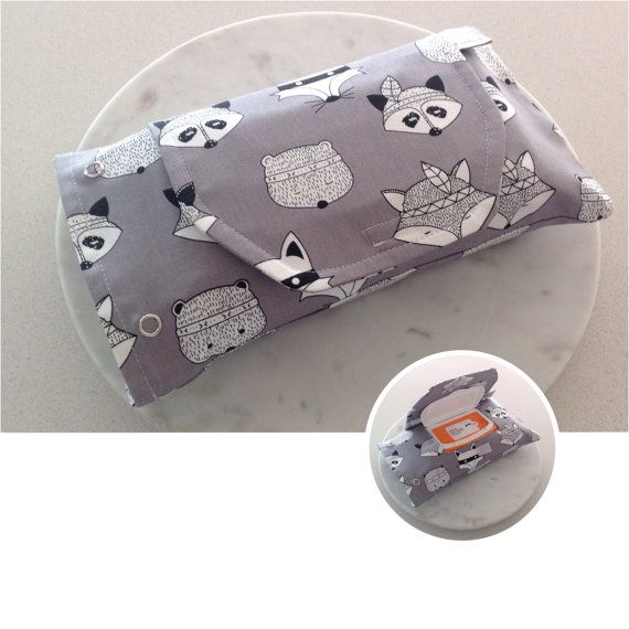 Leashy Lou wipes pouches are great way to hide those plastic wipes packets…