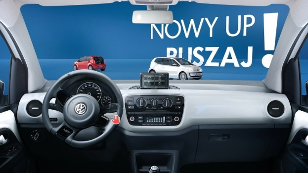 VW up - Radar