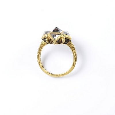 Ring (Europe 1600-1650 Gold, rock crystal) from the V