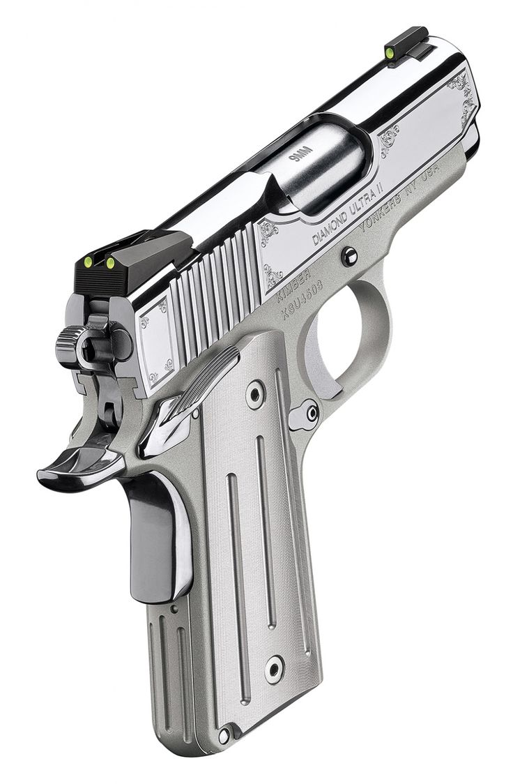 """Kimber announced today it's summer collection of five new pistols. These pistols vary from a compact to full size 1911's with engraving and other special features. In fact the """"Diamond Ultra"""" is available in 45 acp of course but can also be ordered in 9mm. This is one of the new 1911's and it seems …   Read More …"""