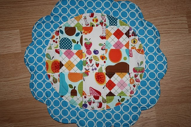 Quilted Placemats and Napkins