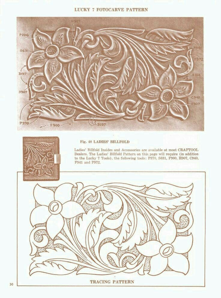 Best images about leather tracing patterns