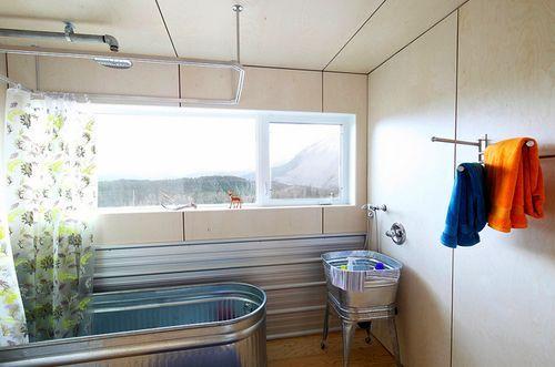 Horse Trough Tub Amp Wash Tub Sink W Galvalume Backsplash