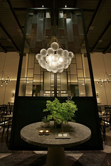 Gia Is A Restaurant Whisky Bar Located In Jakarta Indonesia The Voluminous Space