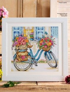 French Scene Cross Stitch Gold  Issue 108 Saved