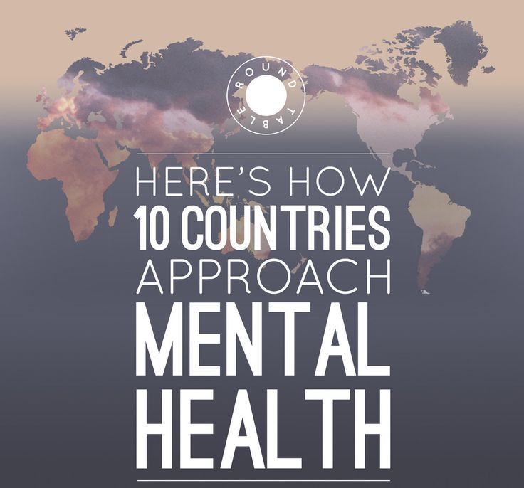 Here's How Ten Countries Approach Mental Health