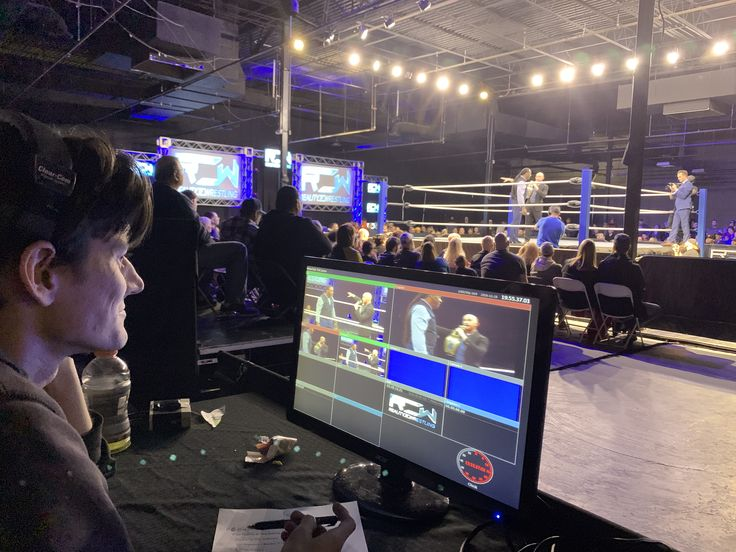 Reality of Wrestling Live Kevin Bernhardt Director Proud