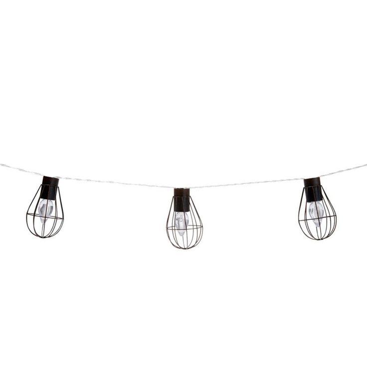 Solar Cage String Lights - 10 LED | Kmart