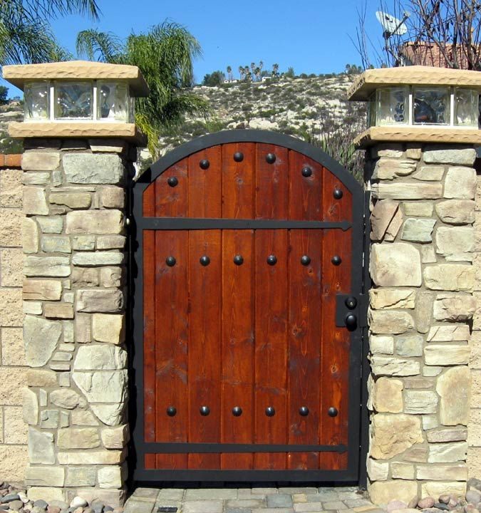 Wooden Tree Gate Design: Best 25+ Iron Gates Ideas On Pinterest