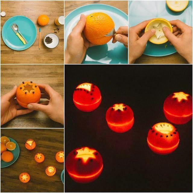 Riciclo Creativo: Come fare delle candele profumate con le bucce d'arancia