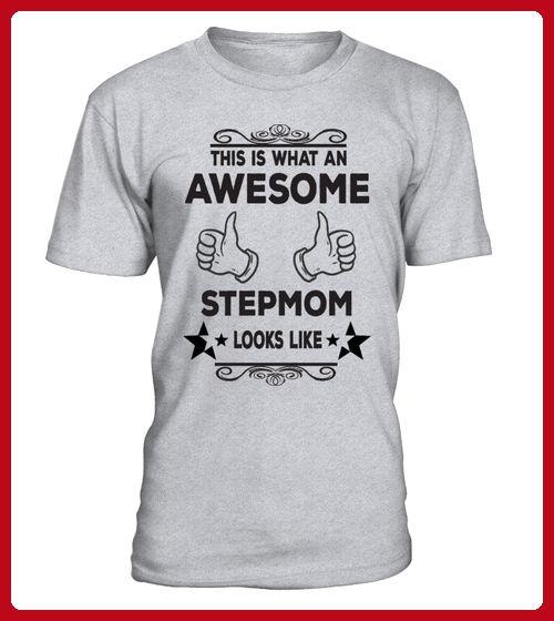 AWESOME STEPMOM BASEBALL - Baseball shirts (*Partner-Link)