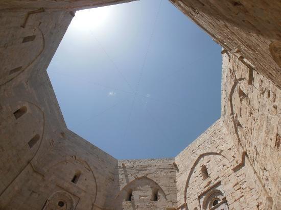Interior del Castello del Monte