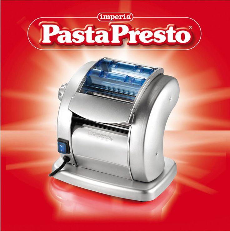 Pasta Presto elettrica restyling.
