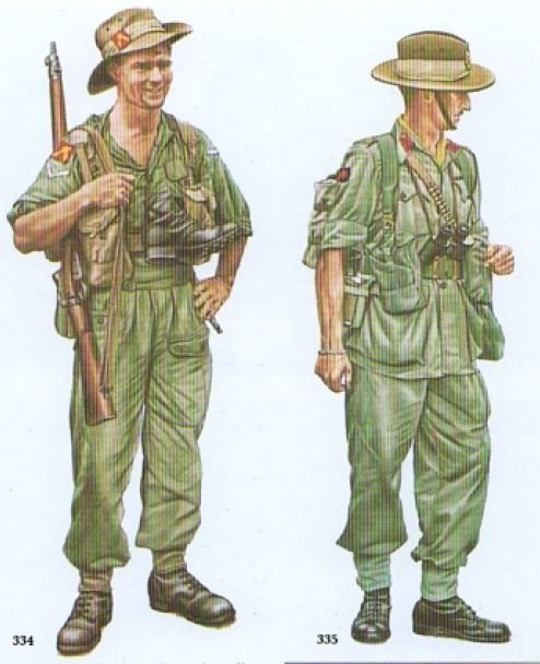 Australian army uniform korean war
