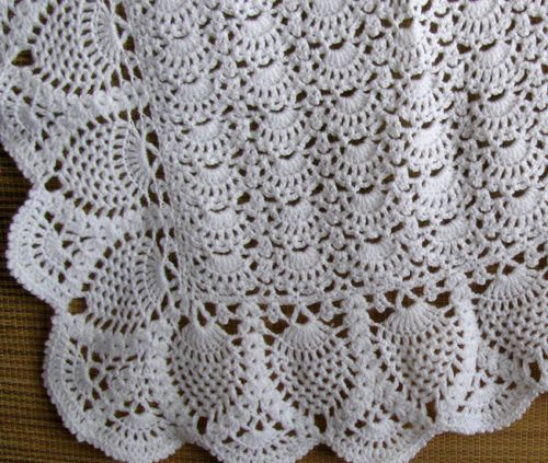 96 best images about Crochet Afghans -- Pineapple on ...