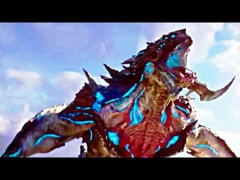 PACIFIC RIM 2 Extended Movie Clip - Kaiju vs Jaegers Fight Scene (2018) John Boyega Movie HD - YouTube