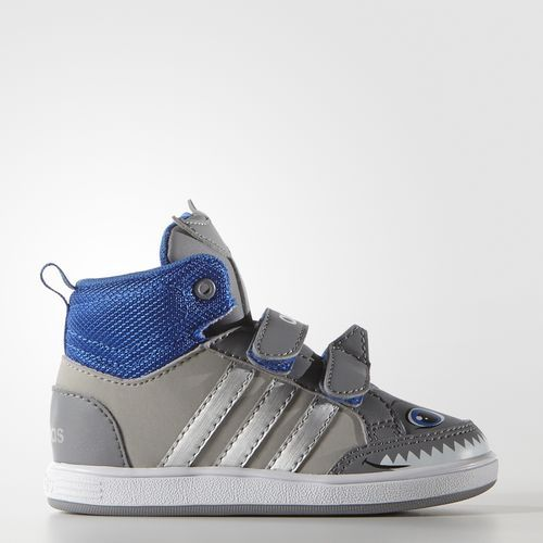 adidas - Hoops Animal Mid Shoes. Toddler ...