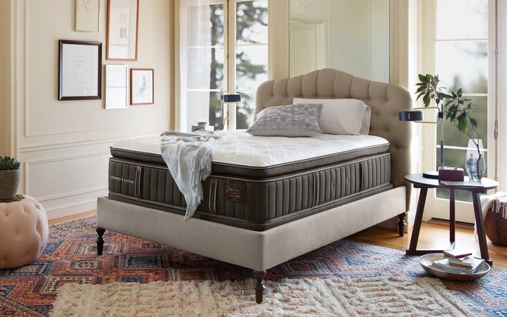 Soft & supportive is just how I like it! I'm talking about my bed, and this Stearns & Foster mattress can definitely make that happen