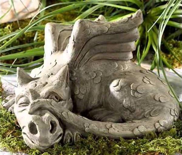 драконы из бетона