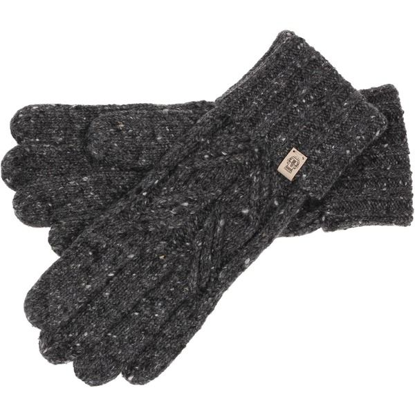 Roeckl Tweed Cable Handschuhe - anthrazit