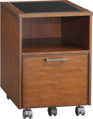 Staples 174 Has The Whalen 174 Astoria File Cart Brown Cherry