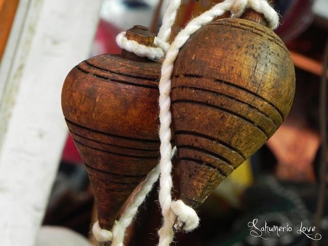 Trompo de madera