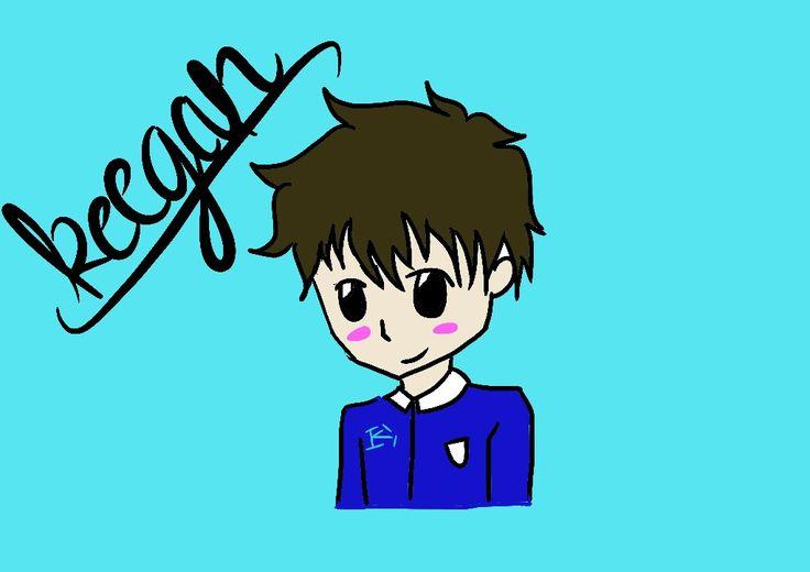 Shy Keegan >∆< Created by Keegan #digital #artwork #boy