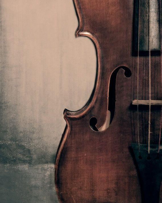 Vintage Violin Portrait Fine Art Photography Musical