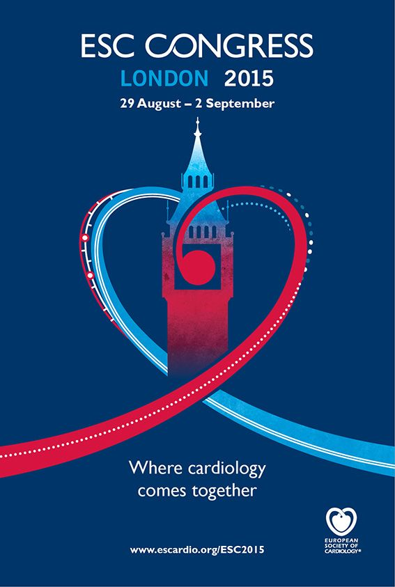 ESC Congress 2015: http://www.tumkongreler.com/kongre/esc-congress-2015 #cardiology #london #uk