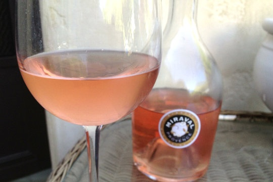 First Taste: Brangelina's Miraval Rosé Wine | Zagat Blog.  Must try just for the hell of it!