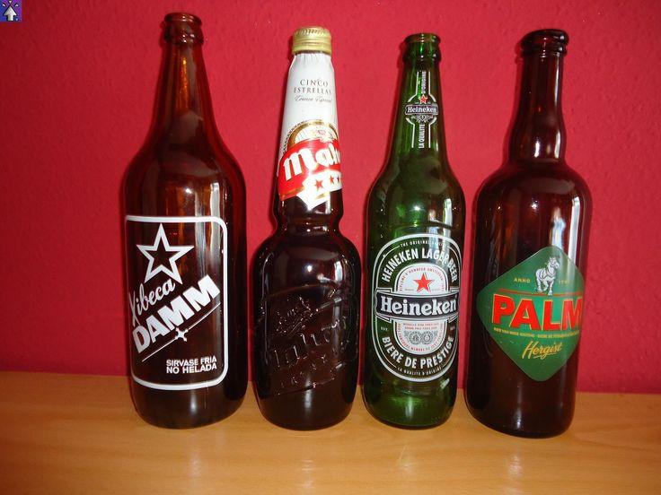 FLECH CORPORATION©: Una de Botellas antiguas vol.8 - ¡Cervezas a Tutiplén!