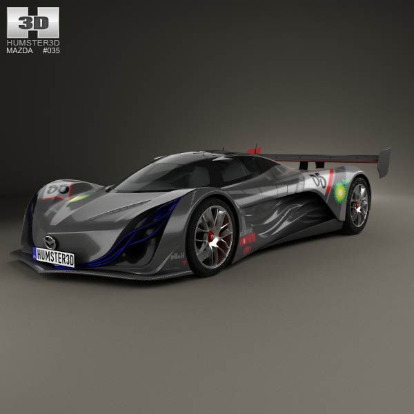 Exceptional Mazda Furai 2008 3d Model From Humster3d.com. Price: $75