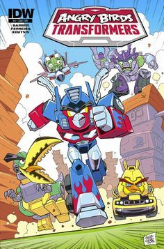 BLIPOMIX: FEB 2015 SOLICTITATION: Angry Birds Transformers #4