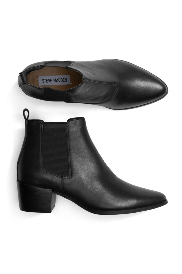 "Black ankle boots from Stitch Fix. #ad // When you sign up for Stitch Fix, your ""Stylist"" will send the perfect pieces right to your doorstep! Fill out a quick style profile online, set your budget and try on handpicked styles in your own home. Keep what you love and send the rest back. Free shipping & returns!"