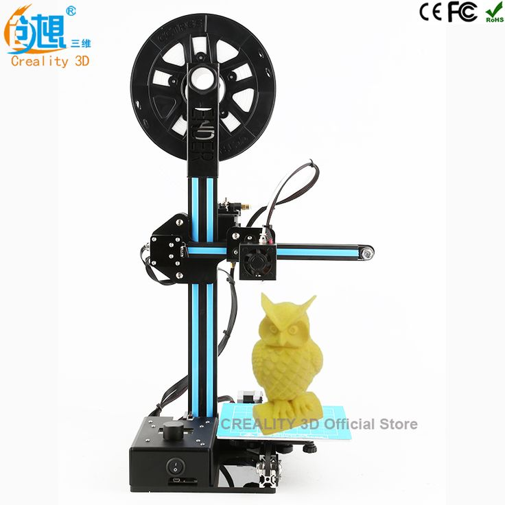 CREALITY 3D Cheap 3d printer kit Ender-2 Full Metal 3d printing kit with Aluminum Hotbed printer 3d Filaments Education
