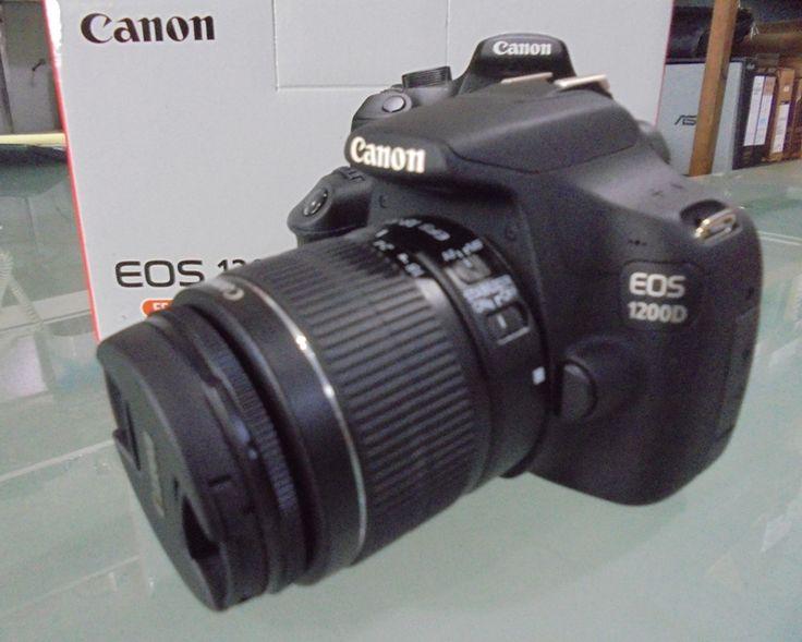 Review Spesifikasi Kamera DSLR Canon EOS 1200D Kit II: Kamera DSLR untuk Pemula