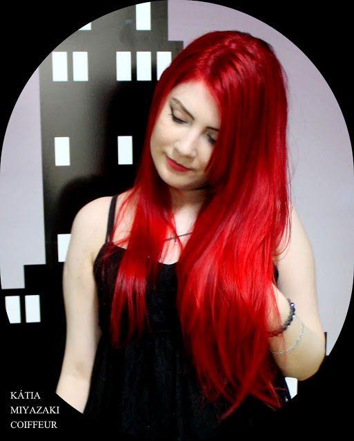 Katia Miyazaki Coiffeur - Salão de Beleza em Floripa: Cabelos Vermelhos - Vermelho Hot - Salão de Beleza...