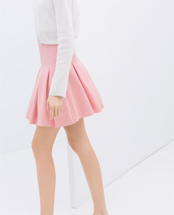 Image 5 of PLEATED SKIRT from Zara