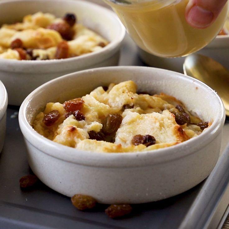 Apr 2, 2020 – A classic easy bread pudding with a delicious vanilla sauce