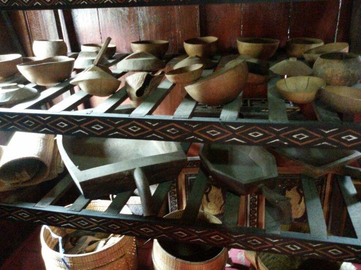 Peralatan masak Suku Toraja