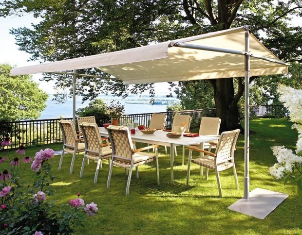 New Sonnenschirme und Sonnensegel TerraceGarden Sonnendach